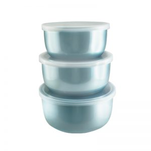 Japanese Food Container Biru