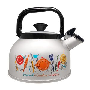 Stylish Pearl Rigoletto Whistling Kettle